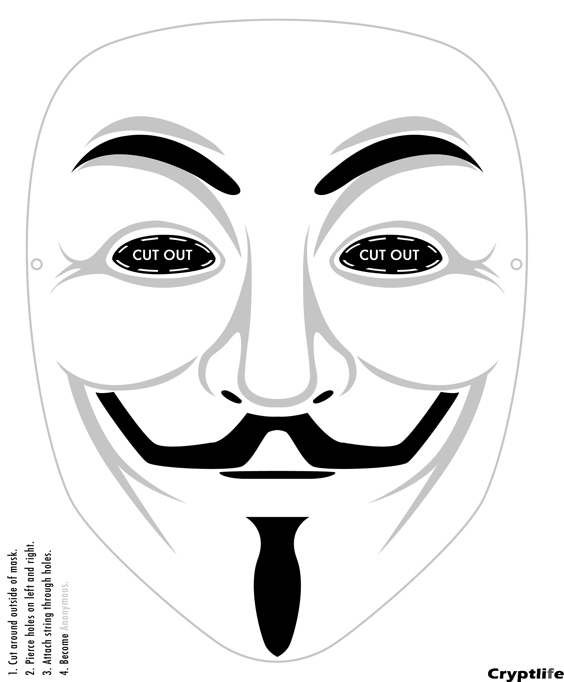 Decisive image intended for mask printable
