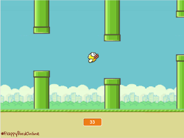 Flappy Bird Pipe Without Background