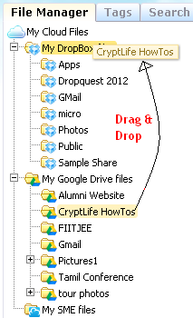 How to: Transfer Files from Google Drive to Dropbox