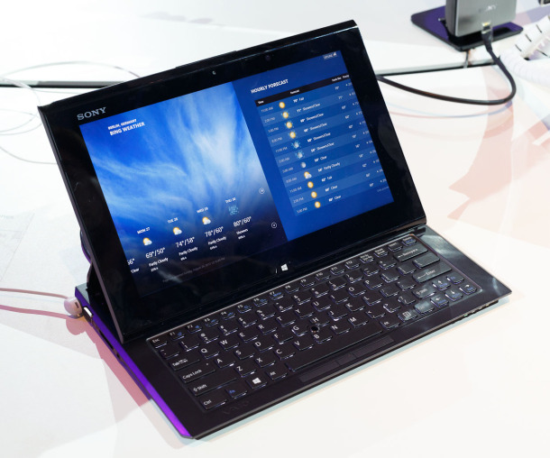 Sony VAIO Duo 11 - Windows 8 powered computer