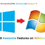 Downgrading from Windows 8 to Windows 7