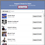 Auto Suggest Increase Friends and Subscribers on Facebook