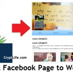 Convert Facebook Page to Website
