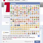 Facebook emoji on posts