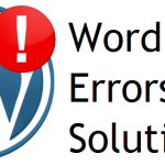 WordPress Errors with Solutions