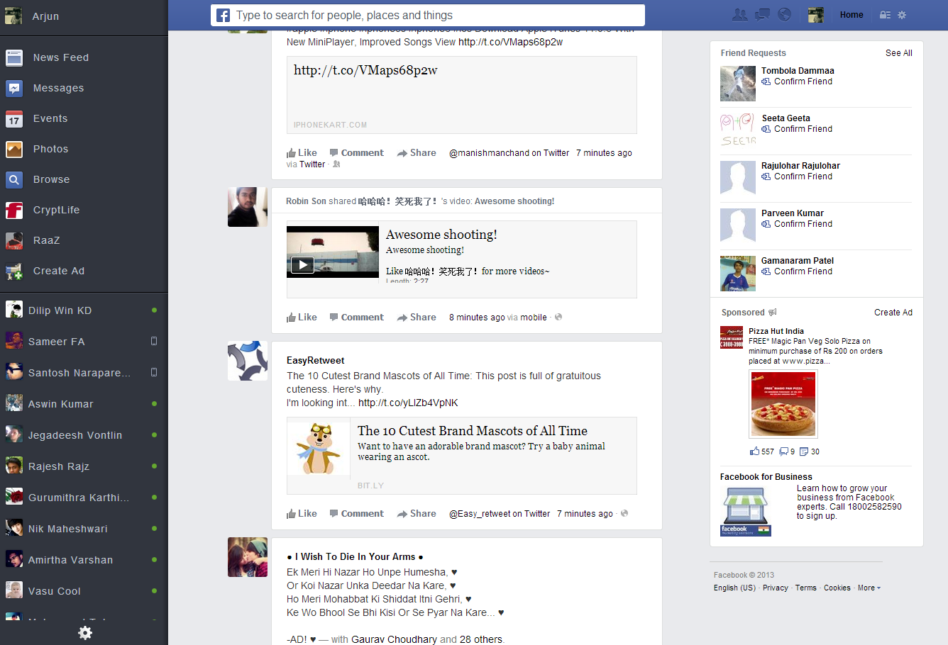 Get New News Feed on Facebook before official update