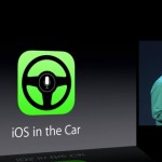Apple iOS in Car dashboard