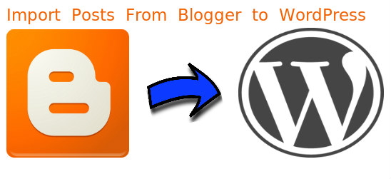 Import posts from Blogger to WordPress
