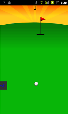 Golf Game for Blinds