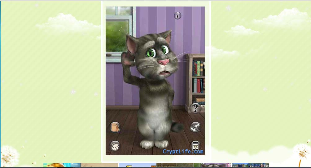 Talking Tom Cat 2 Android Apps for Google Chrome