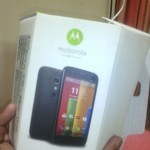 Moto G unboxing pictures