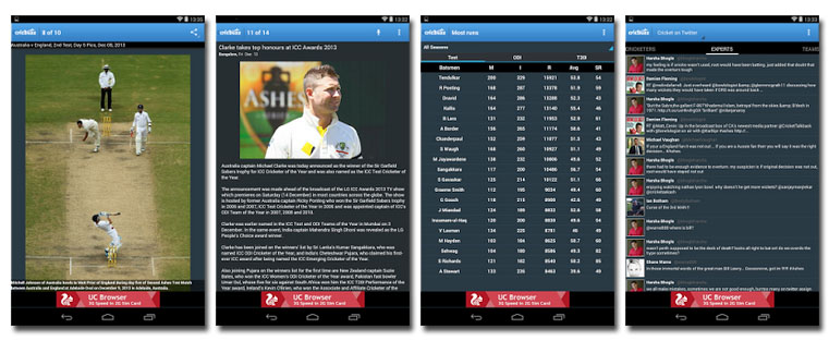 Crickbuzz app for IPL 2014 videos