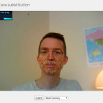 Face Substitution WebGL Chrome Experiment