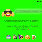 chromoji chrome extension to support emoji