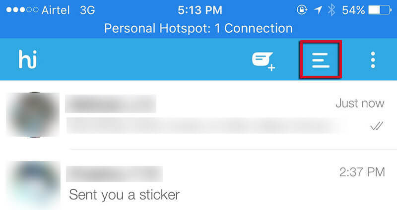 Stop Notifications of Status Messages on Hike [How To]