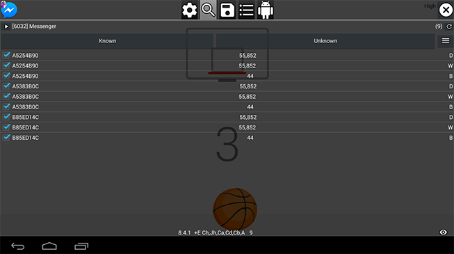 Changed High Score on Basketball