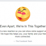 Facebook Care React