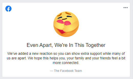 Enable Facebook Care React