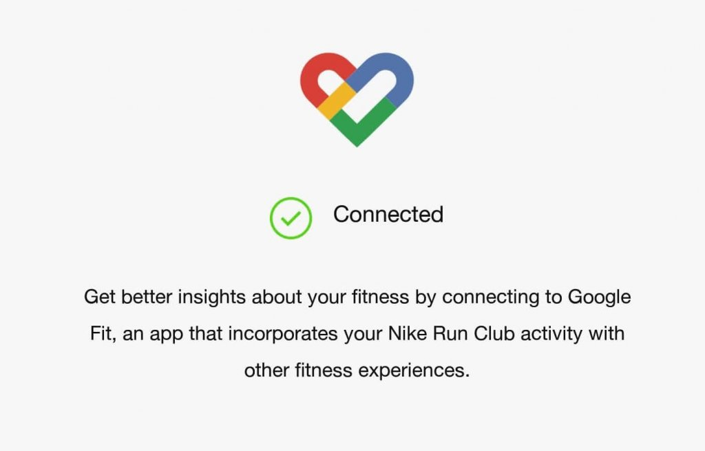 Nike Run Club to Strava via Google Fit