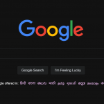 Enable dark mode on Google homepage